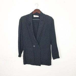 Vintage Dior Black Casual Double Breasted Jacket